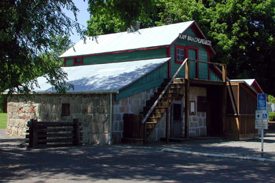 The Kam Wah Chung building in John Day, now restored and open to the public as a museum.