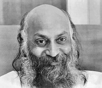 Bhagwan Shree Rajneesh during the first Poona ashram era (1970s to early 1980s). Photo from http://www.satrakshita.com/osho_biography.htm