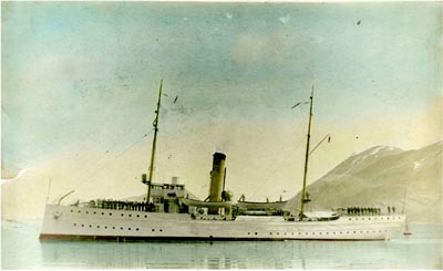 Coast Guard cutter Algonquin in Unalaska.