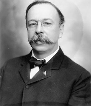 Governor George Chamberlain. Image: OHS