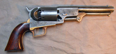 Cap-and-ball Colt revolver, .44 caliber, 1848 Dragoon model