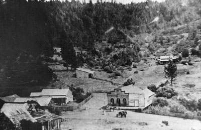 The town of Waldo in 1890.