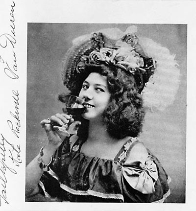 Klondike Kate, aka Kitty Rockwell or Kathleen Rockwell, in a handout picture from her Yukon days.