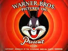 Title screen from a Bugs Bunny cartoon. Mel Blanc, the legendary Looney Toons voice man, grew up in Portland.
