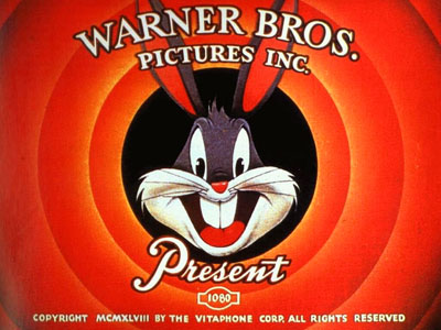 The title screen from a 1948 Warner Bros. cartoon.