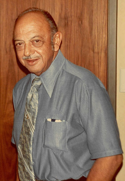 Mel Blanc, the voice of Bugs Bunny, Yosemite Sam, Daffy Duck, Sylvester and Tweety.