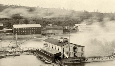 First DC power station in America, Oregon City, Oregon