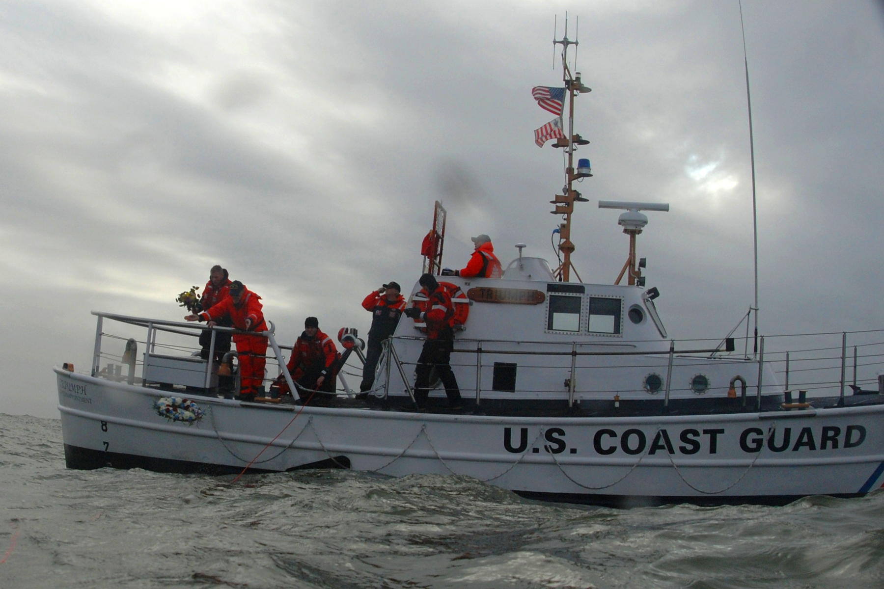 Coast Guard motor lifeboat MLB Triumph II