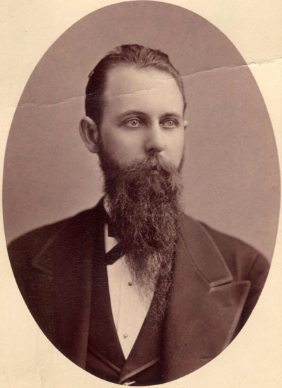 John H. Mitchell as a young man