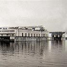 The Portland munciipal dock -- Terminal 1 -- as it appeared around the time of the waterfront strike.