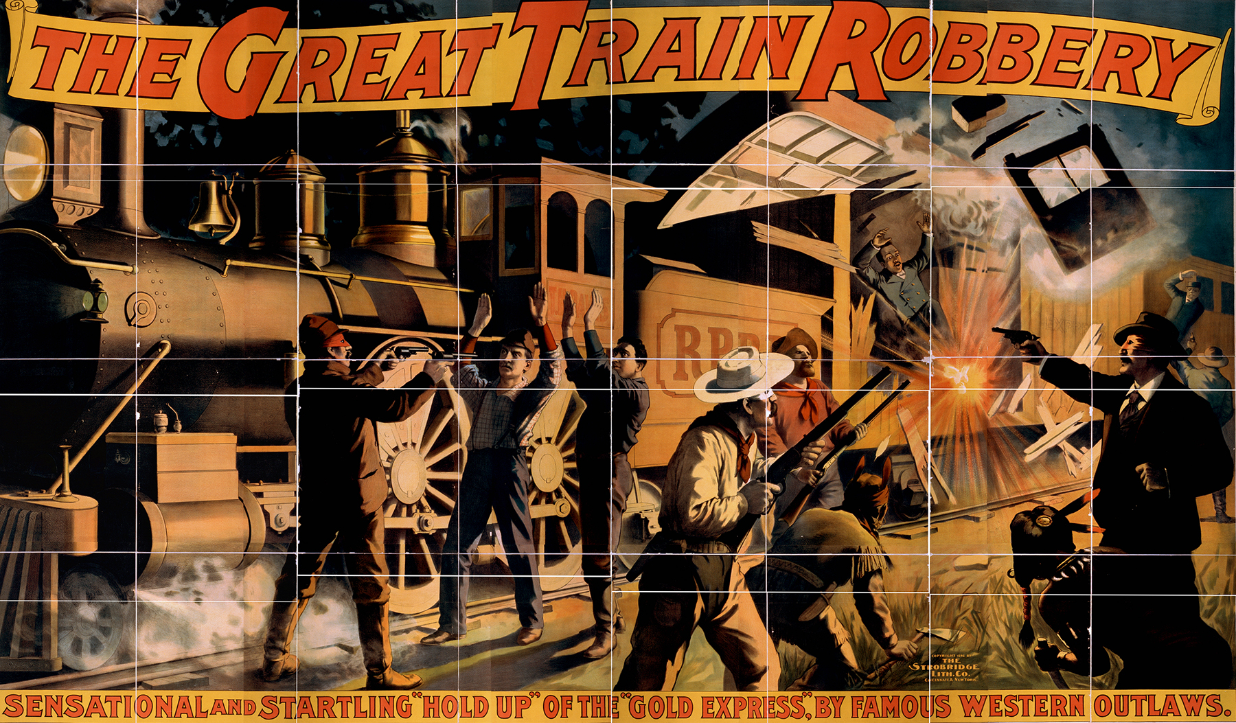 film and great train robbery Those who love a good heist should enjoy the great train robbery some of the intricacy is lost in the translation to film, but it's still very solid.