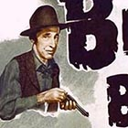 "A poster advertising a 1948 ""B Movie"" titled ""Black Bart."" Although the movie's title character shares Black Bart's real name (Charles Boles), the movie's plot bears no resemblance to the real Black Bart story."