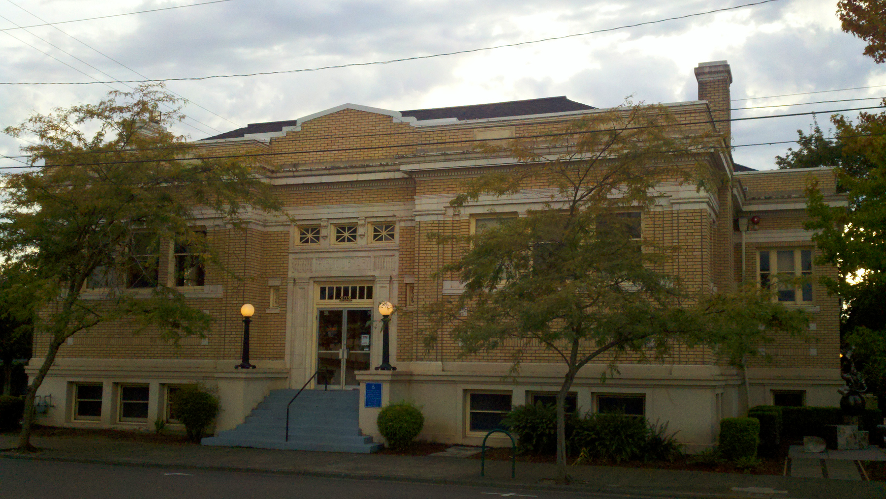 Matching Patterns Oregon Embraced Carnegie Libraries Like No Other State