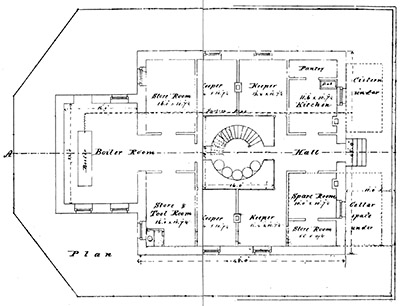 Builders were hard to find for tillamook rock lighthouse for Lighthouse house plans